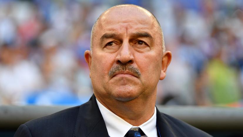 Тренер сборной России заявил, что ничего не слышал в возможном назначении Черчесова в «Спартак»