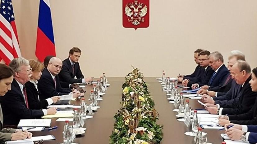 В Совбезе России рассказали о длительности встречи Патрушева и Болтона