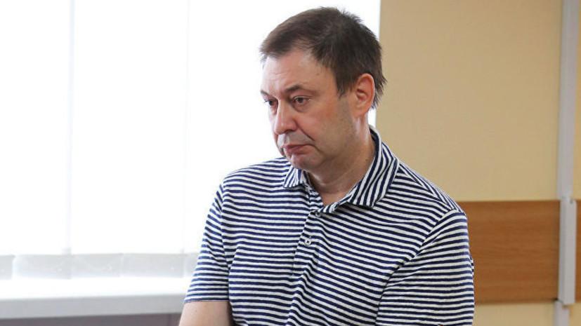 Суд оставил Вышинского под арестом