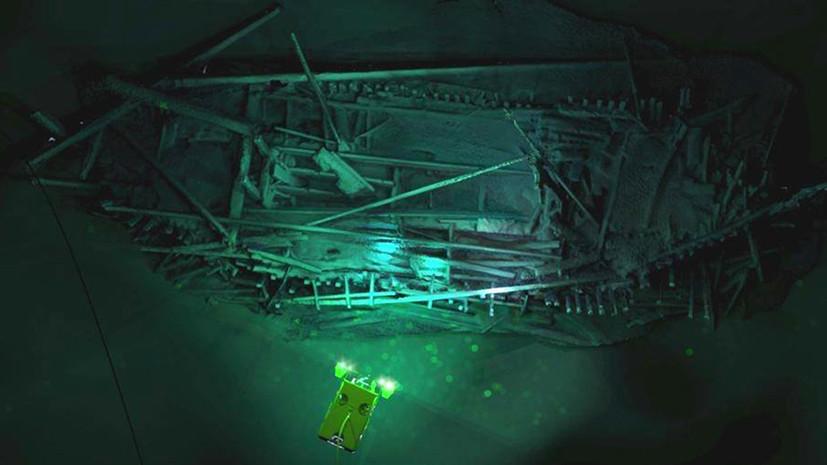 Эпическая находка: на дне Чёрного моря более 2,4 тыс. лет лежит «корабль Одиссея»