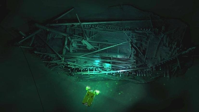 В Чёрном море обнаружили затонувший более 2000 лет назад корабль