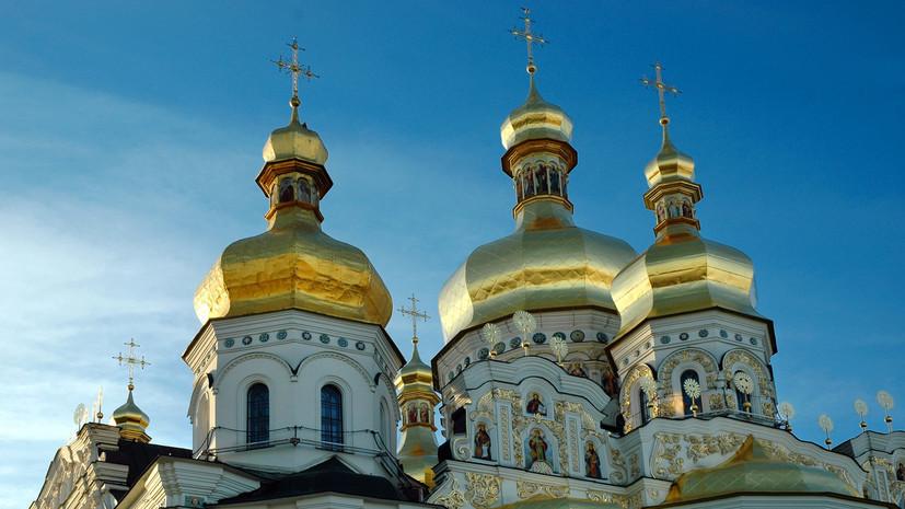 В Киеве представители УПЦ КП пытались проникнуть в храм УПЦ МП