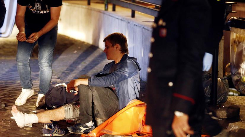 Очевидец сравнил произошедшее в метро Рима с апокалипсисом