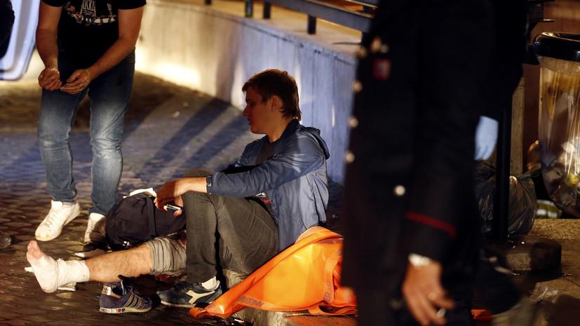 Болельщик ЦСКА рассказал подробности аварии в метро Рима