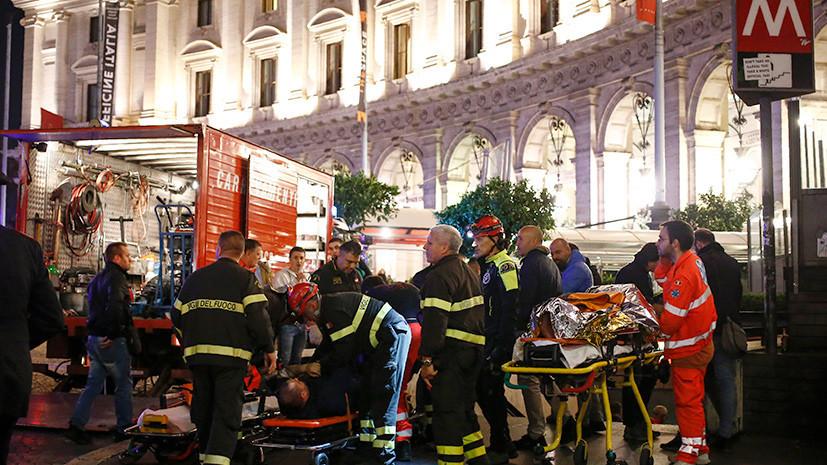 Неисправность или хулиганство: какие причины аварии на эскалаторе в Риме рассматривают власти Италии