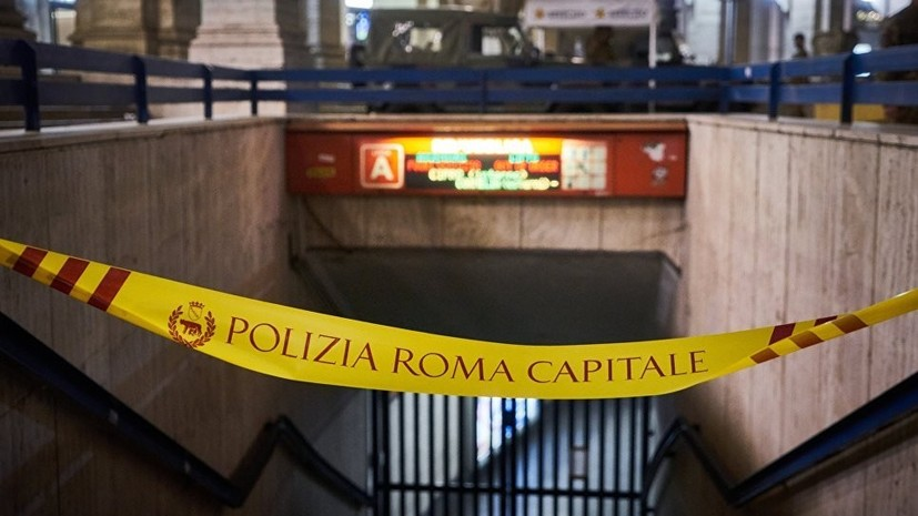 В МИД рассказали о временном закрытии одной из станций метро в Риме из-за ЧП с эскалатором