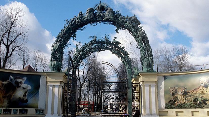На территории Московского зоопарка обнаружены фрагменты костей