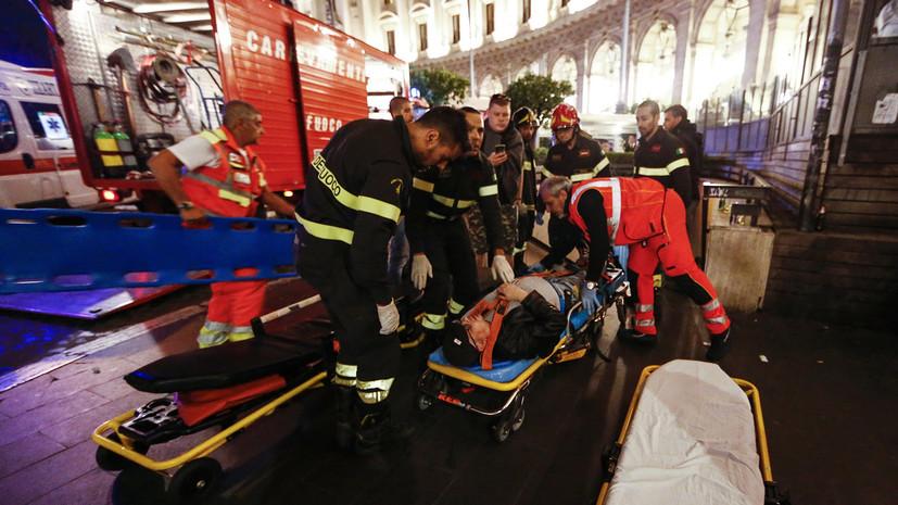 Болельщица ЦСКА обвинила сотрудников римского метро в инциденте с эскалатором
