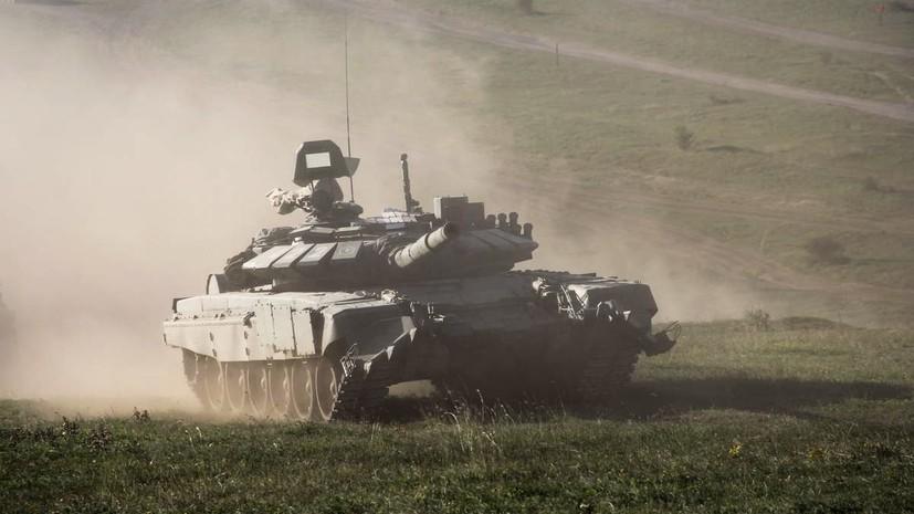 В Челябинской области проходят учения с участием более 5 тысяч танкистов ЦВО
