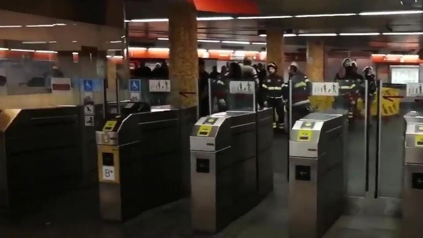 Болельщик ЦСКА заявил, что никто не прыгал на эскалаторе в римском метро