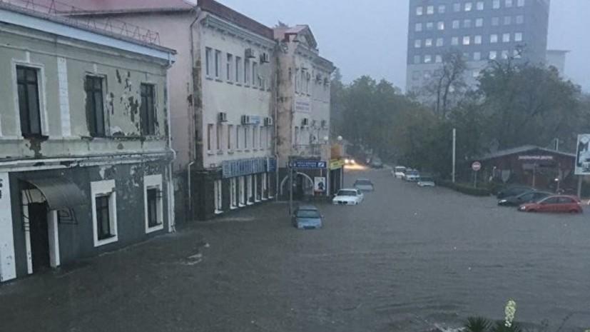 Глава МЧС вылетает в пострадавший от проливных дождей Краснодарский край