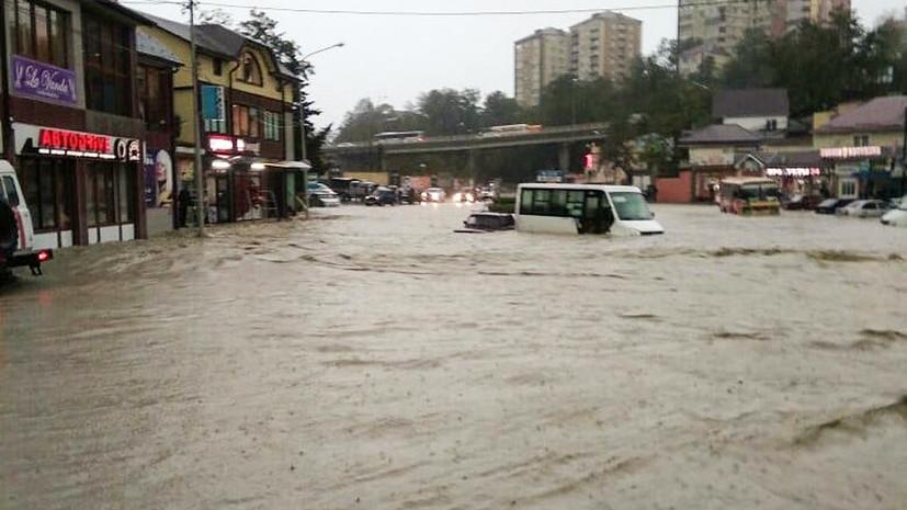 «Наводнение, дождь не прекращается»: жители Краснодарского края рассказали о ЧС из-за ливней