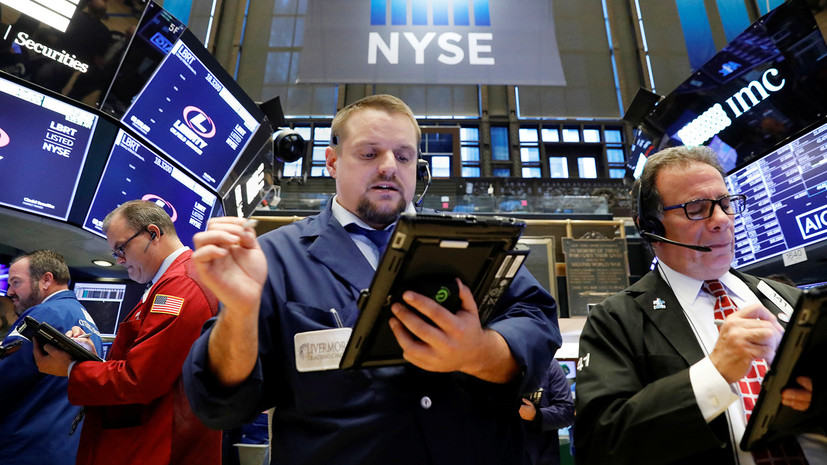 Падение фондового рынка США вызвало распродажу на других биржах