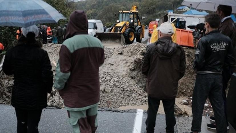 Около 70 тысяч человек остались без водоснабжения в Туапсинском районе