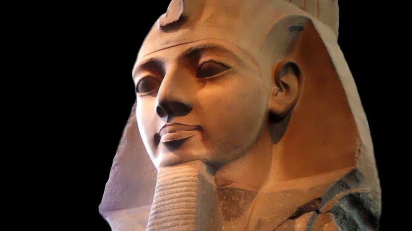 Под Каиром найден зал торжеств Рамзеса II