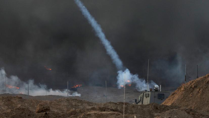 В Армии обороны Израиля считают САР и Иран причастными к атакам из сектора Газа