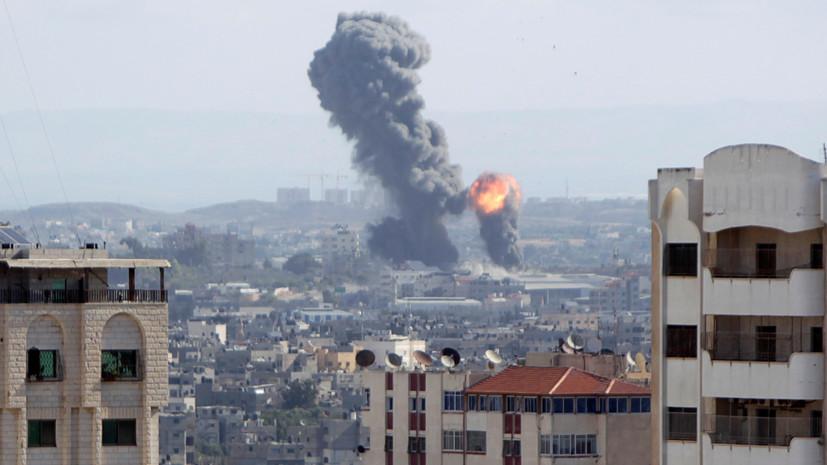 Авиация Израиля возобновила удары в секторе Газа
