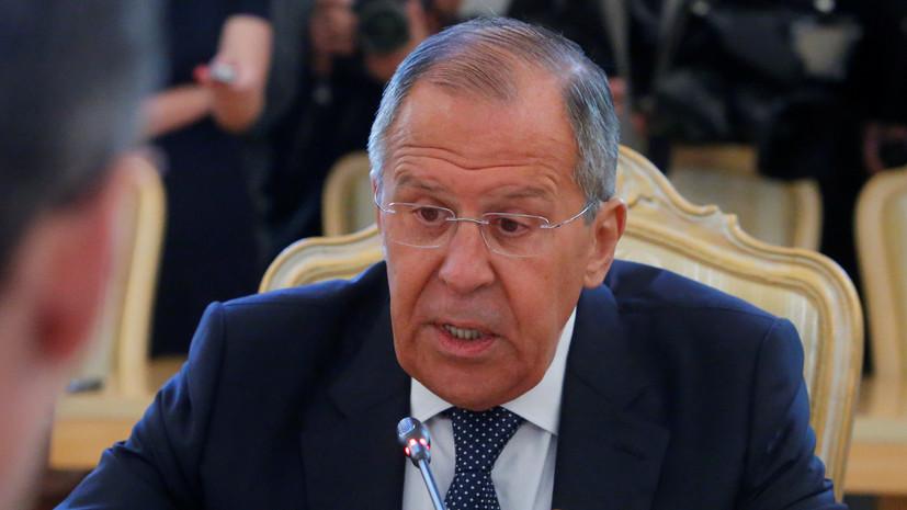 Лавров: запрос на русофобию агрессивно навязывается в США