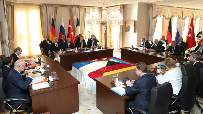Де Мистура назвал полезным и конструктивным саммит в Стамбуле