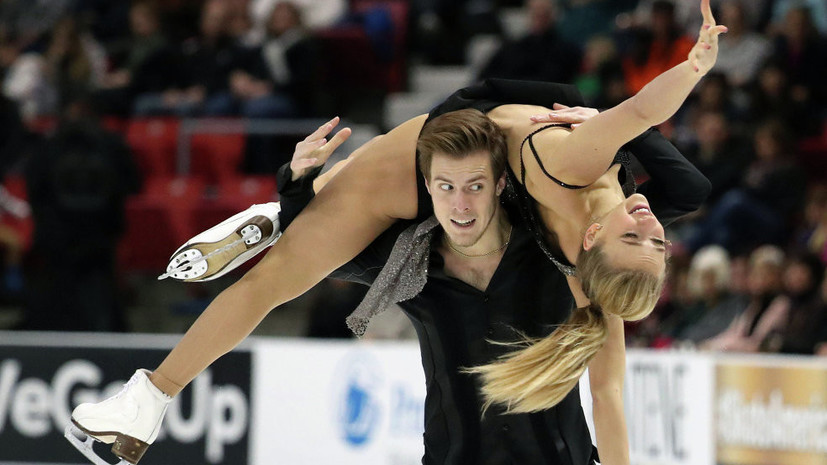 Кацалапов и Синицина довольны своим выступлением на этапе Гран-при в Канаде