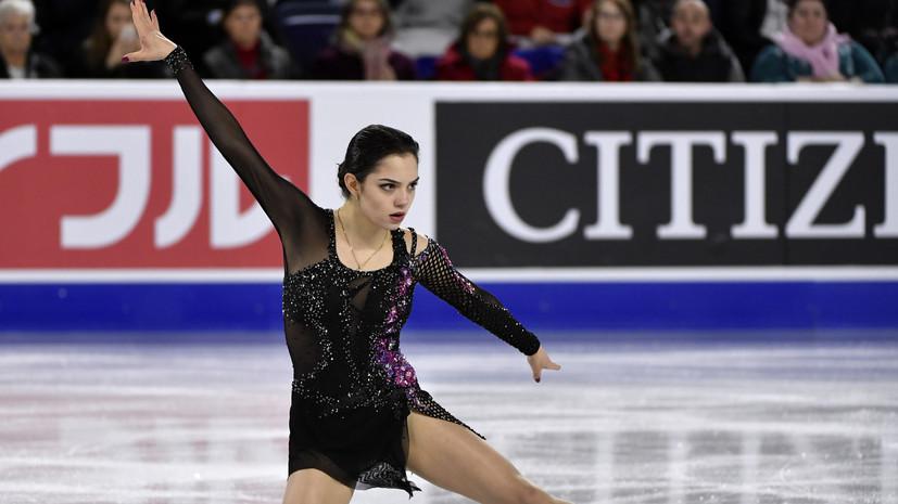 Тарасова прокомментировала выступление Медведевой на этапе Гран-при в Канаде
