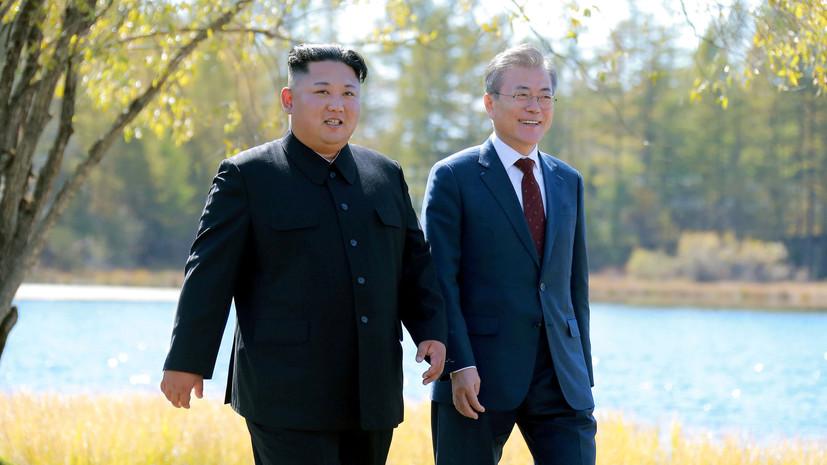 Мун Чжэ Ин заявил об отсутствии точного плана визита Ким Чен Ына в Южную Корею