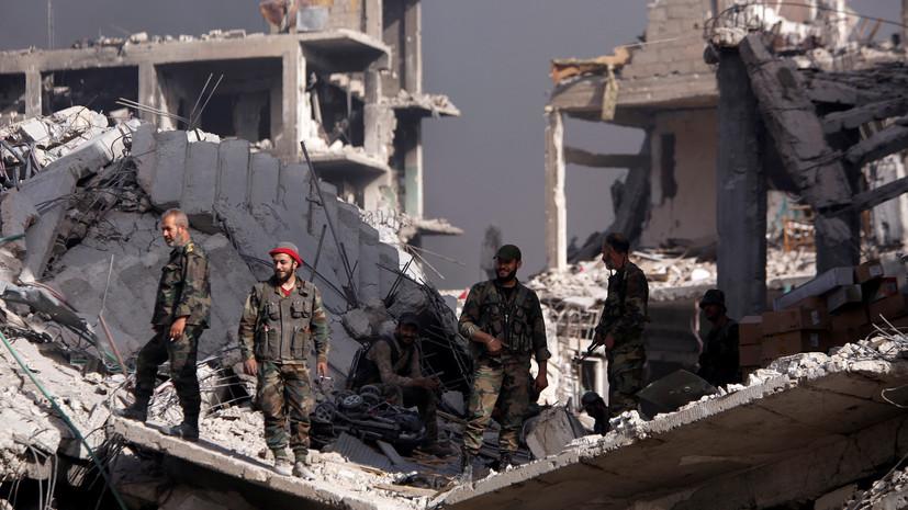 СМИ: При ударе коалиции в Дейр эз-Зоре погибли пять мирных жителей