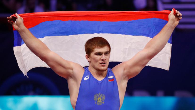 Чехиркин и Евлоев стали чемпионами мира по греко-римской борьбе