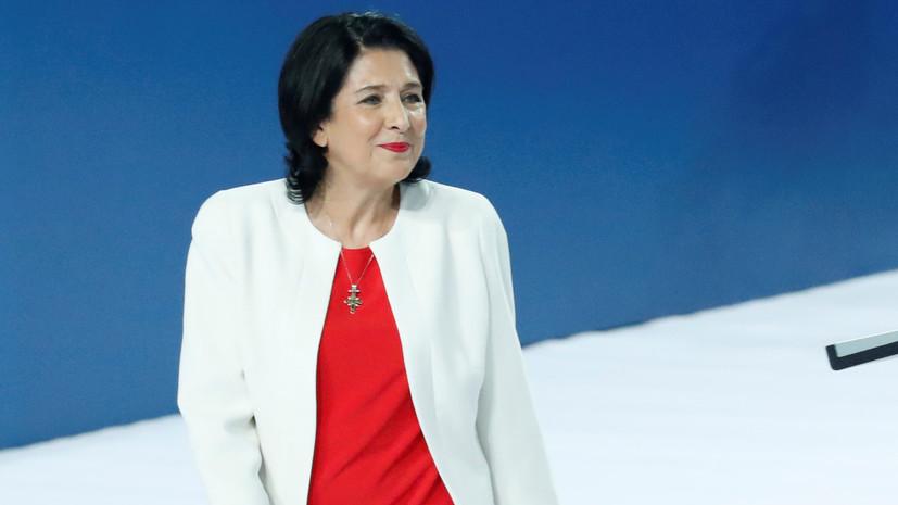 Премьер Грузии заявил об «уверенном лидерстве» Зурабишвили на выборах