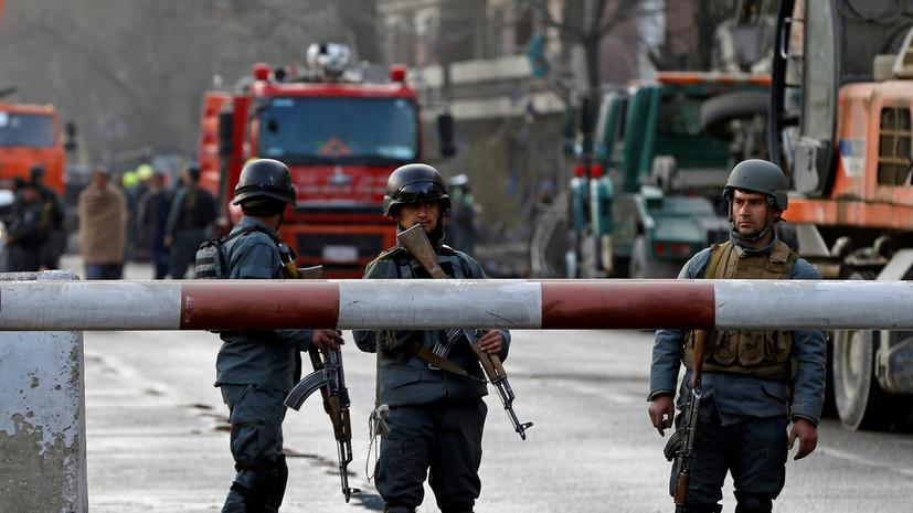 При взрыве в Кабуле пострадали шесть человек