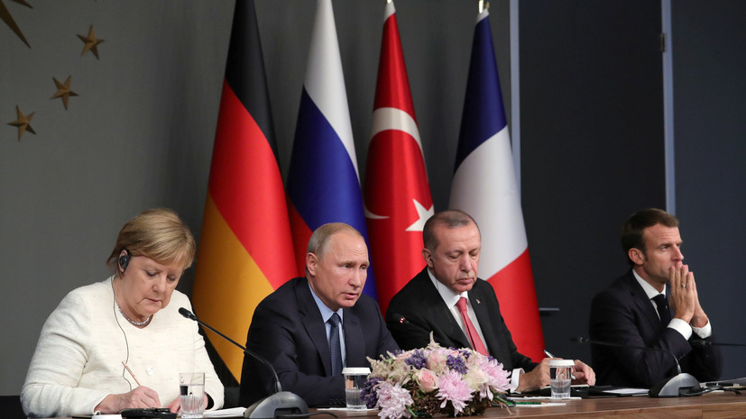 Россия проинформирует сирийские власти об итогах саммита в Стамбуле