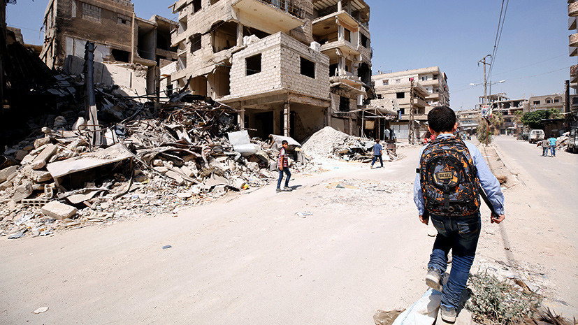 В МИД Сирии рассказали о создаваемых США военных базах в стране
