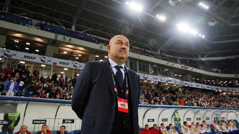 СМИ: Черчесов не намерен совмещать работу в «Спартаке» и в сборной России