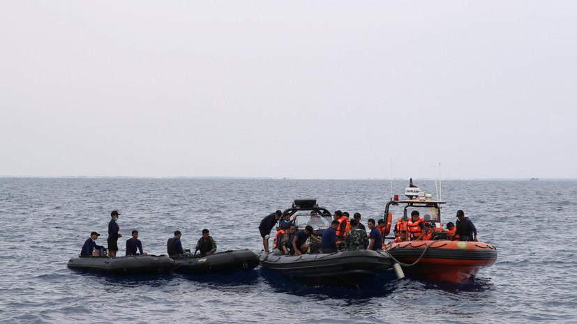 Спасатели обнаружили десять тел на месте крушения Boeing в Индонезии