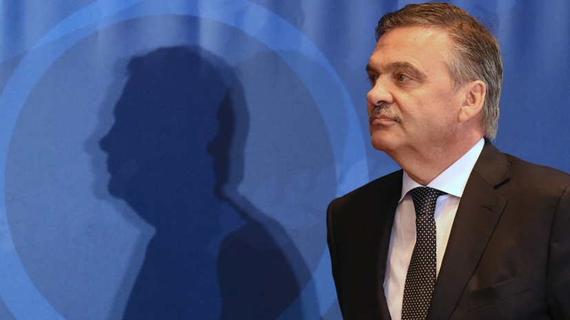 Глава IIHF посетит Новосибирск