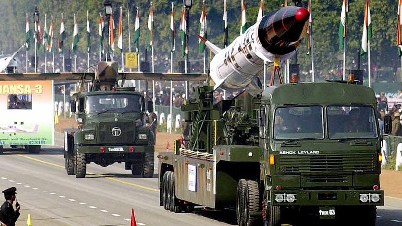 Индия провела успешные тестирования баллистической ракеты Agni-1