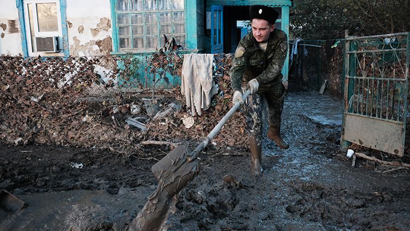 СМИ: Число пострадавших при наводнении в Краснодарском крае превысило 500