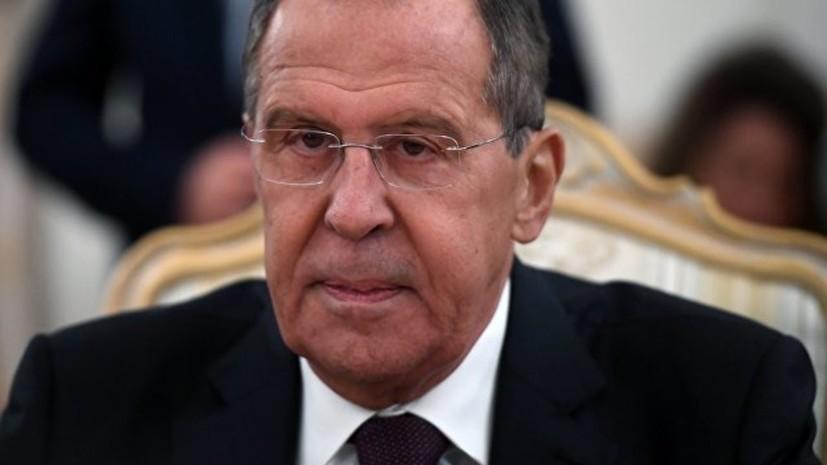 Лавров заявил о мощном давлении на Россию