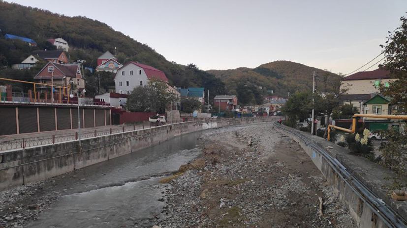 В Гидрометцентре назвали причину наводнений в Краснодарском крае