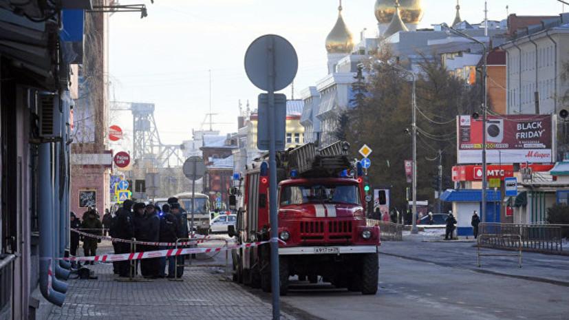 Власти рассказали о состоянии пострадавших при взрыве в УФСБ в Архангельске