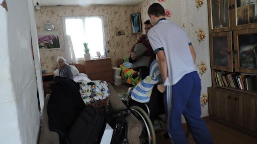 дом престарелых сосновского района