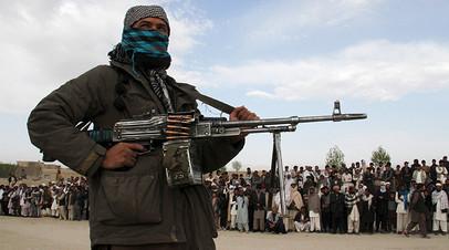 Член исламского движения «Талибан»