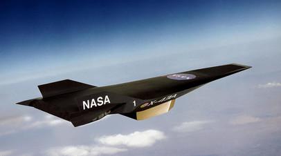 Гиперзвуковой беспилотник X-43A