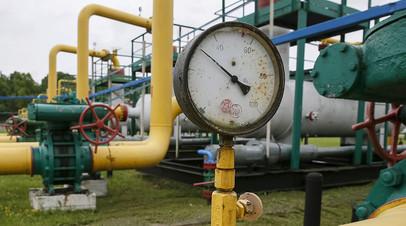 Украинское газохранилище в посёлке Дашава