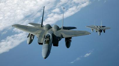 F-15C Eagles