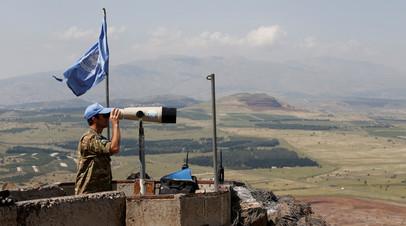 Военный наблюдатель Органа Организации Объединённых Наций по наблюдению за выполнением условий перемирия на сирийско-израильской границе