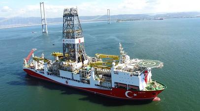 Турецкое буровое судно Fatih
