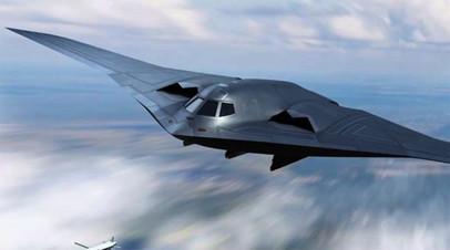 Концептуальное изображение стратегического самолёта H-20