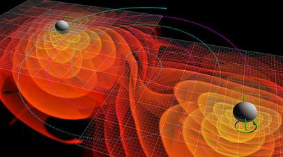 Визуализация гравитационных волн