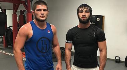 Хабиб Нурмагомедов и Зубайра Тухугов